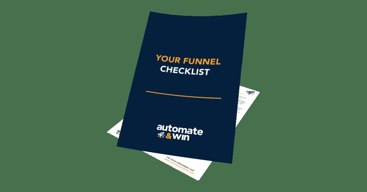 Funnel Checklist mockup